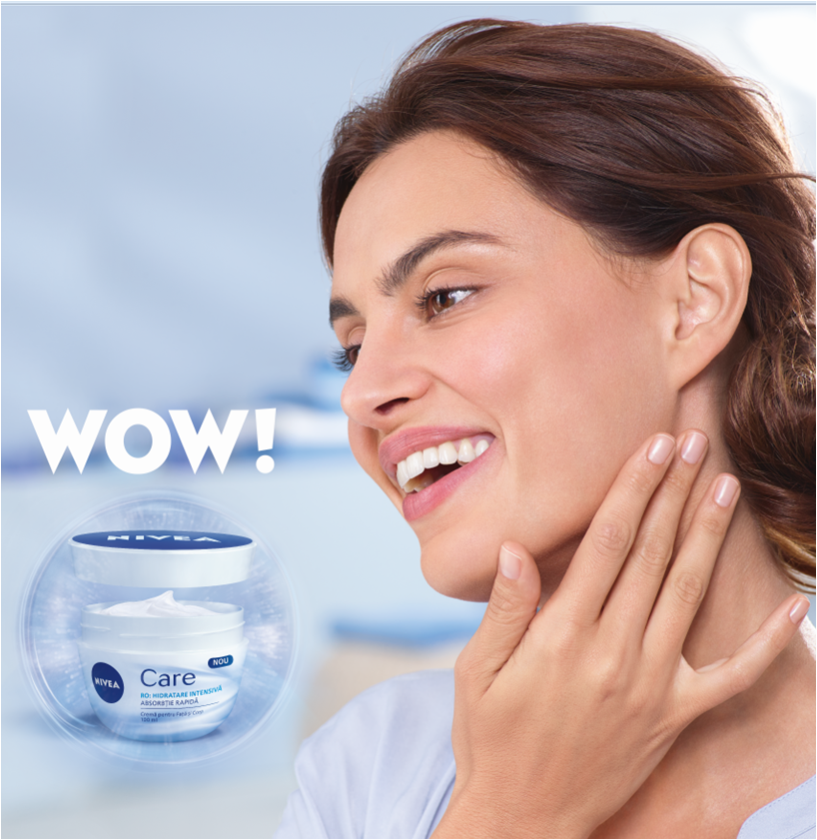 Nivea Care - the WoW wonder cream - Monica's beauty in five minutes