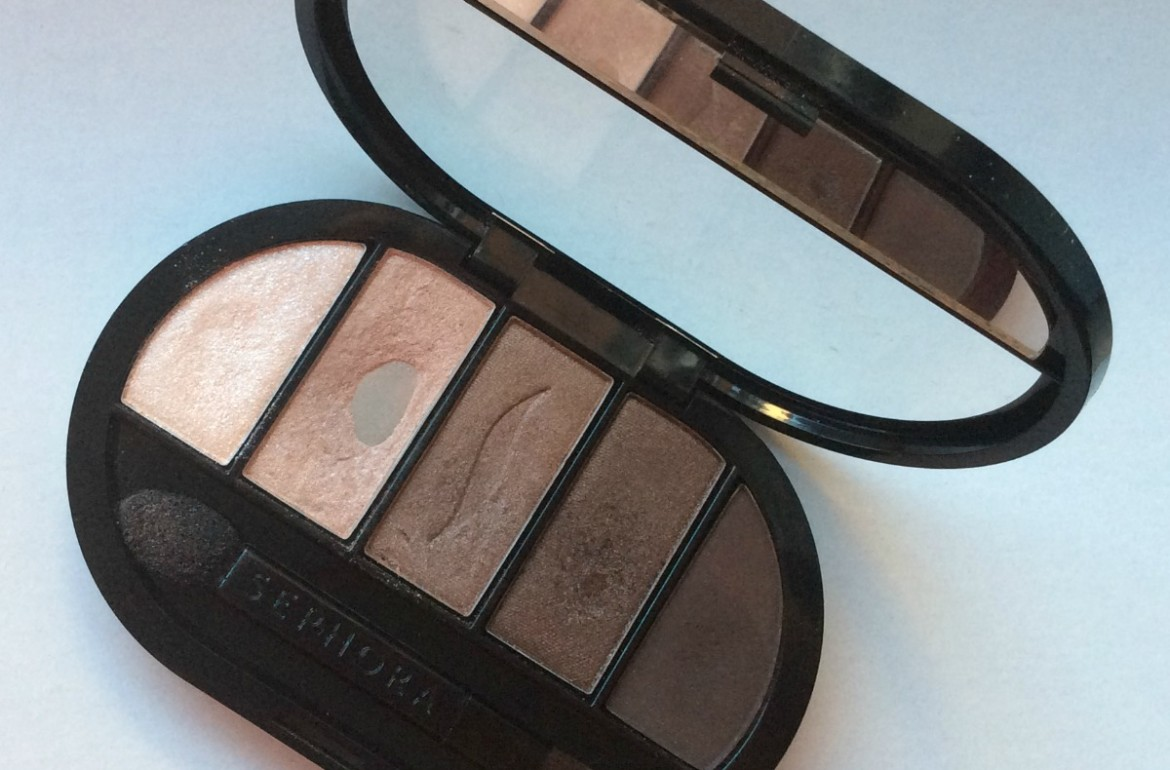 Sephora Collection Colorful 5 Eyeshadow Palette - no.6 Pale to rich taupe