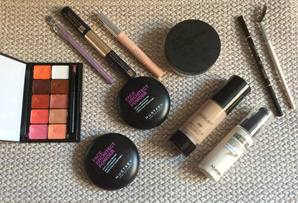 Spring lilac make-up look6