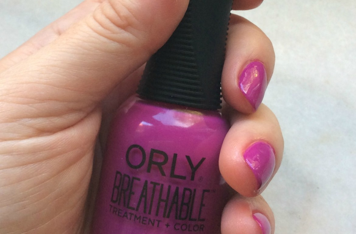 Orly Breathable Give me a break nail polish, review - Monica\'s ...