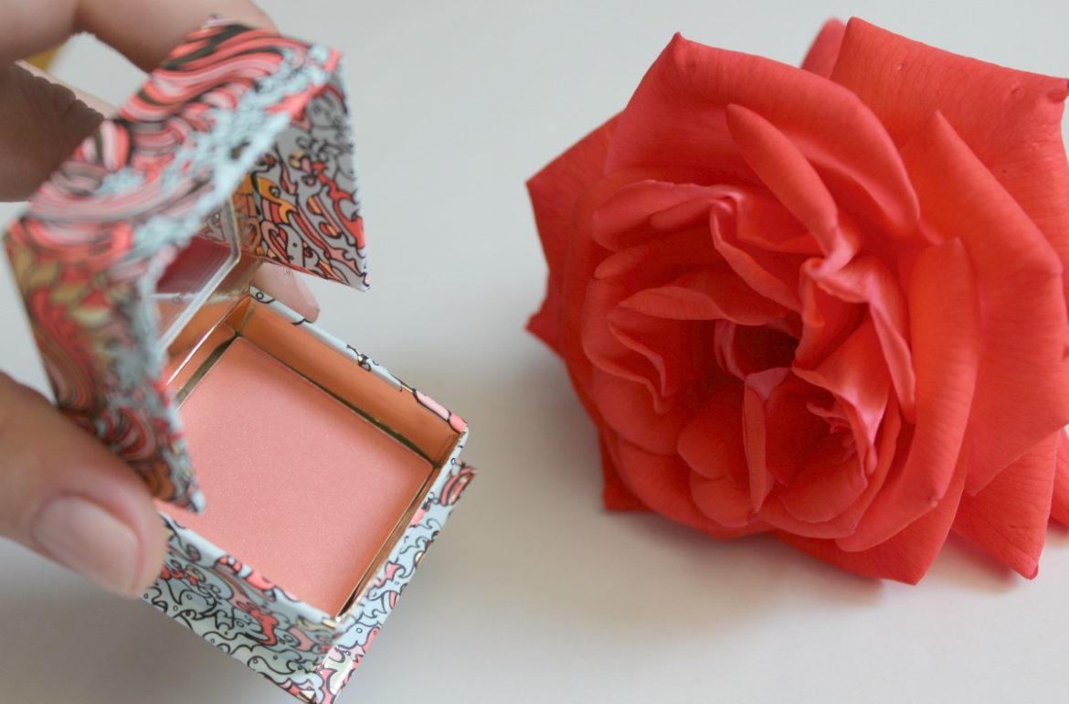benefit galifornia mini blush review monica 39 s beauty in five minutes. Black Bedroom Furniture Sets. Home Design Ideas