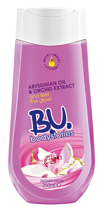 BU_Shower Cream_Orchid 250ml