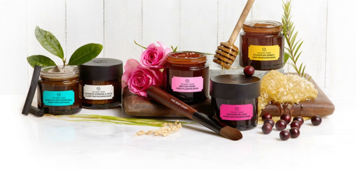 New From The Body Shop  Expert Facial Masks And Fresh -5101